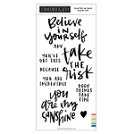 Painted Sayings Stamp Set