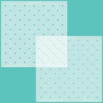 Quilted Hearts & Dots Stencil Set