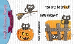 Scaredy Cats Stamp Set
