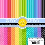 Sleek Stripes 6x6 Paper Pad