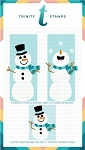 Slimline Series Happy Snowman Dies