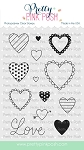 Valentine Hearts Stamp Set