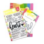 Oversized Heart Stamp & Die