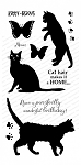 Silhouette Kitties Stamp Set