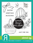 Adorned Egg Stamp Set