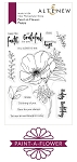 Paint-A-Flower: Poppy Stamp Set