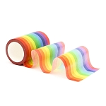 Instant Rainbow Washi Tape