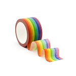 Narrow Rainbow Washi Tape