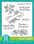 Banner In Bloom Stamp Set