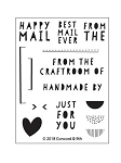 Best Mail Ever Stamp Set
