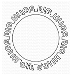 Big Hugs Circle Frame Die-namics