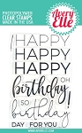 Big Birthday Stamp Set