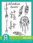 Boho Vibes Stamp Set