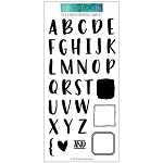 Bold & Brushy Upper Stamp Set