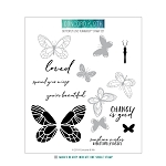 Butterfly Love Turnabout Stamp Set