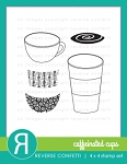 Caffeinated Cups Stamp Set