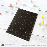 Deep Etch Night Sky Cover Die