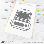 Gift Pocket Tag Creative Cuts