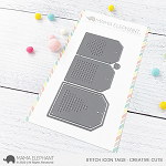 Stitch Icon Tags Creative Cuts