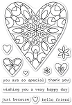 Wirework Hearts Stamp Set