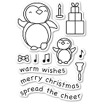 Penguin Cheer Stamp Set