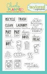 Clearly Planned Clean Freak Stamp Set