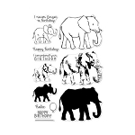 Color Layering Elephant Stamp Set