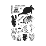 Color Layering Armadillo Stamp Set