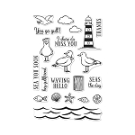 Seas The Day Seagulls Stamp Set