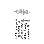 Wishes Stamp & Cut