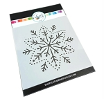 Embroidered Snowflake Stencil