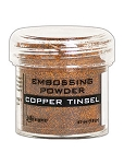 Embossing Powder Copper Tinsel