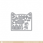 Favor Bag Accessory Cat Dies