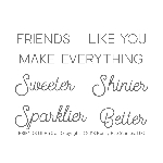 Friends Like You Stamp Set