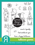 Halloween Gnomes Stamp Set