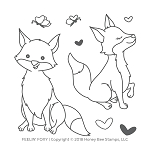 Feelin' Foxy Stamp Set