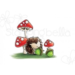 The Littles Hedgie And His Acorns Stamp Set