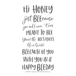 Hi Honey Stamp Set