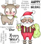 Happy HollaDays Stamp Set