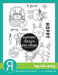 Hop Into Spring Stamp Set