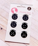 Flat Emoticons Paper Clips