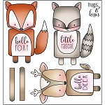 Woodland Huggers Stamp Set