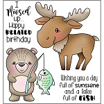 I Moosed Up Stamp Set