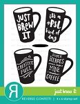 Just Brew It Stamp Set