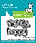 Happy Happy Happy Add-On Lawn Cuts