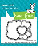 How You Bean? Conversation Heart add-on Lawn Cuts
