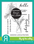 Lily of the Valley Stamp Set