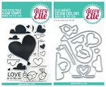 Love is in the Air Stamp & Die