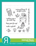 Mermaid Kisses Stamp Set