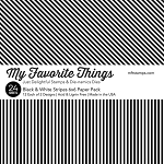 Black & White Stripes 6x6 Paper Pad